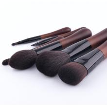 6 makeup brushes, wool makeup brushes, portable beauty tool kits