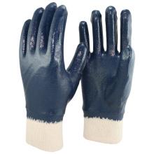 NMSAFETY NBR jersey liner gant de travail en nitrile résistant