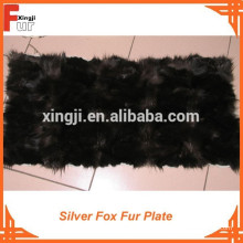 Silver Fox Vorderbeinplatte Fuchspelzplatte