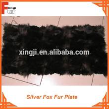 Primeira qualidade de pele de raposa de prata