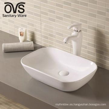 Lavabo decorativo clásico de cerámica del mejor control de calidad superior vendedora