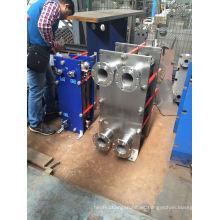 Intercambiador de calor de placa plana Hisaka Ux10A para aire acondicionado central