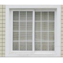 Windows colgante solo del PVC del estilo americano con precio de fábrica