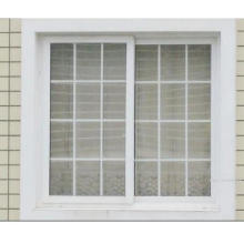 Fenêtre coulissante de PVC de fenêtre de glissement avec des conceptions de grilles