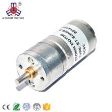 3V 6V 12V DC Getriebemotor 23 U / min für Elektroschloss