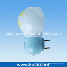 Vertical Italy Plug LED Night Lamp with Photocell Sensor (KA-NL309)