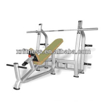 integrated gym trainer/free weight bench/HOT SALE! Commercia incline bench