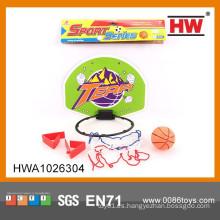 Popular deporte plástico de juego de baloncesto de plástico portátil para niños