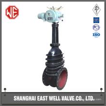 Cast iron socket end gate valve