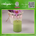 5 * 5 Multi-Colored Smokeless Pillar Candle with Fragrance