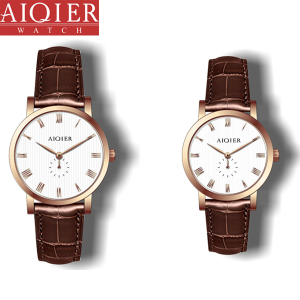 Fashionable Couple Watch