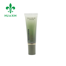 25ml transparent Gradient printing tube for exfoliating lip with screw cap
