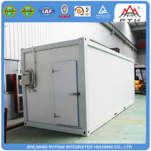 Low cost prefabricated easy to maintain cold storage on sale