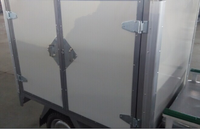 One Pair Trailer Door Hinges