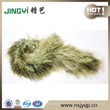 Latest Wholesale Custom Design sheepskin scarf from China workshop
