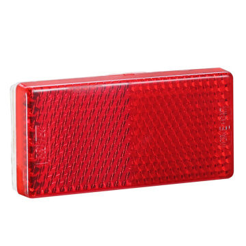 High Quality Rectangle E4 LED PC Trailer Reflectors