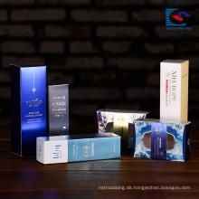 Luxus benutzerdefinierte Logo Druck Design Parfüm Papier Verpackung