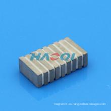 Imanes del motor del cobalto del samarium de la alta calidad 20X10X3mm