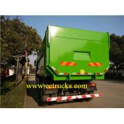 SINOTRUK 10 Wheel Docking Garbage Trucks