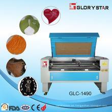 Dongguan fabricante máquina de corte de cuero láser 100W con CE SGS