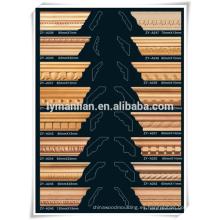 Kuwait tallado en madera de pino de madera tallado