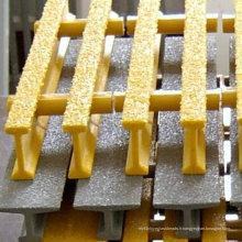 Caillebotis FRP / GRP, grille pultrudée avec anti-feu