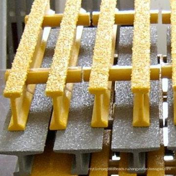 Стеклопластик/стеклопластик решетки, Одноосноориентированные решетки с Анти-огонь