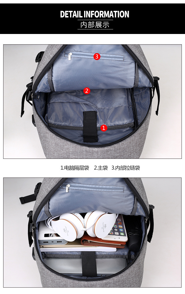 direct supply laptop anti-theft backpack