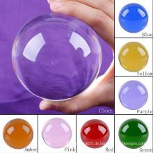 Verschiedene Größe Dekorative Sieben Farbe Kristallkugel