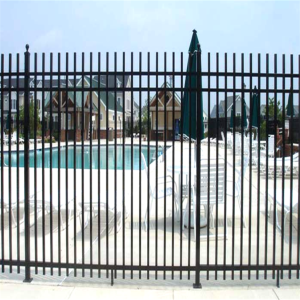 Ornamental Aluminum Swimming Pool Fence Designs