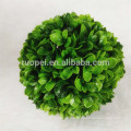 High quality ceiling hanging decoration artificial leaf topiary ball