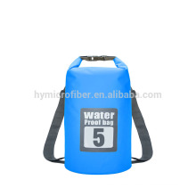 Silk screen customized waterproof bag for beach travel
