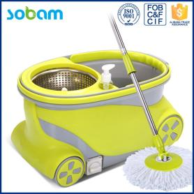 Floor Mop Machine With Bucket Wheels