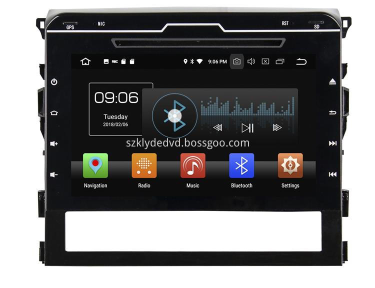 Android 8.0 Auto Radio systems for Cruiser 2016 (1)