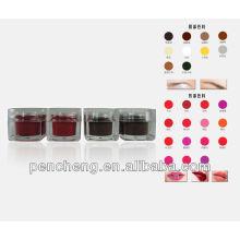 Fábrica de fornecimento de tinta de sobrancelha cosmética permanente profissional