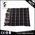 wholesale tartan woven men scarf