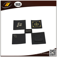 OEM High Quality Iron on Embossed Leather Patch