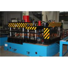 Bandeja de cabos perfurada Aço galvanizado e acabamento anti-Corrsion HDG Máquina de fabricação de rolo de fiação com fiação ranhurada Filipinas