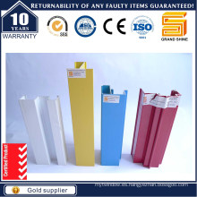 Perfil de aluminio / aluminio anodizado colorido (ISO9001)