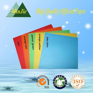 80GSM papel de impresión offset color A4 papel de tamaño