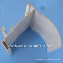 Cortina de alumínio-tampa ferroviária (tamanho pequeno) para zebra blind-rolo componentes cego, faixa de cortina / tubo e acessórios