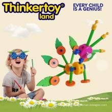 DIY Educational Toys Building Block Toys Happy School Series