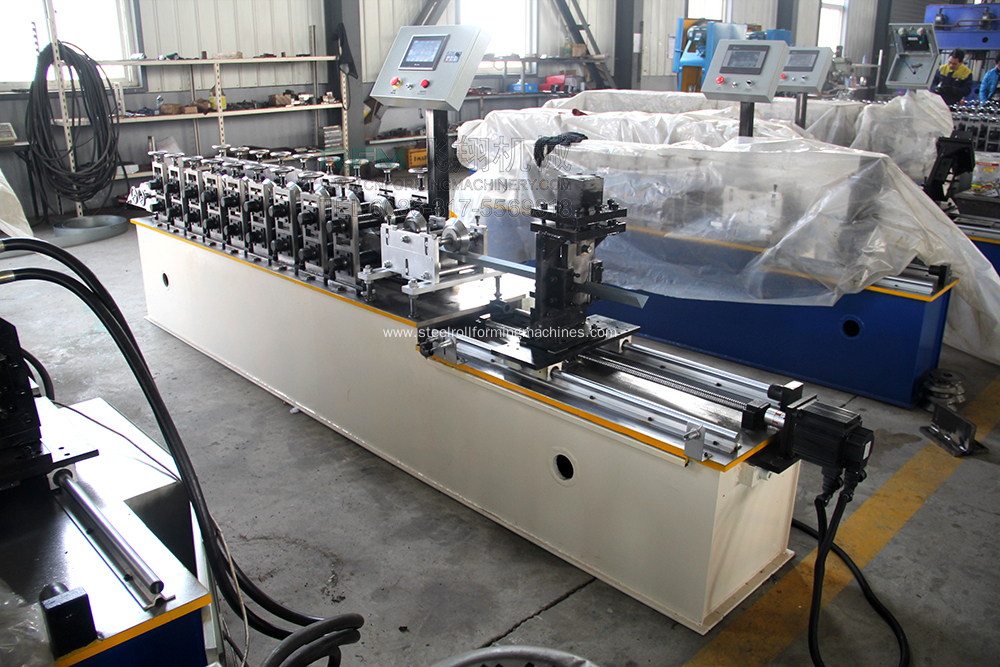 Roller Steel Shutter Door Roll Forming Machine