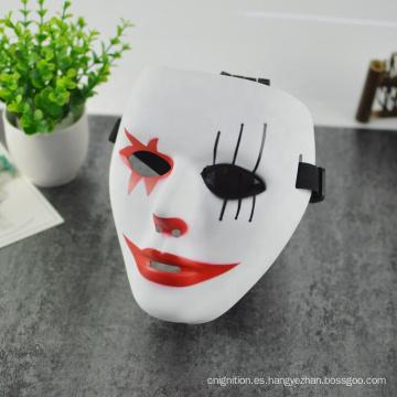 Máscara de cabeza de Halloween máscara de plástico