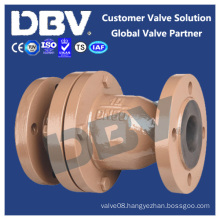 Wcb Rubber Lined Flanged Swing Check Valves