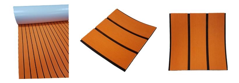 faux teak sheet