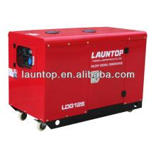 Générateur de 10kw silencieux à deux temps et refroidi à l'air avec moteur de copie Lombardini