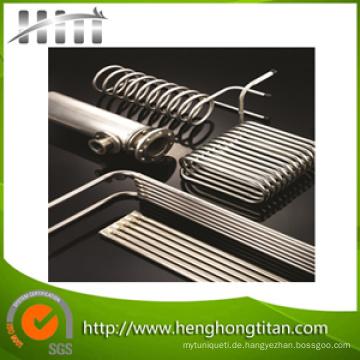 Gr2 ASTM B338 Titanrohr für Wärmetauscher und Kondensator