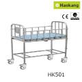 Cochecito de bebé para cuna de madera ajustable (HK-N218)