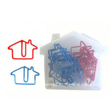 House Paper Clip in Plastic Box Packing